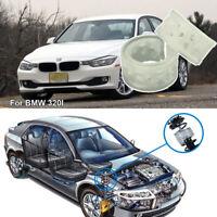2pcs Super Power Rear Shock Absorber Car Coil Spring Buffer for BMW 320i White