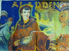 "Vintage "" Aladdin ""  Play Poster By Taylors Printers. Wombwell, Yorks."