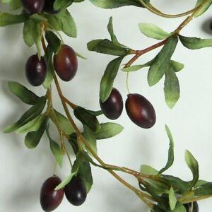 6 ft Artificial Olive Garland. Olives. Garland. Bar Decoration. Display Garland.