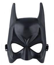 Cool Adult Black Mask Halloween Batman Masquerade Party Mask Half Face Costume