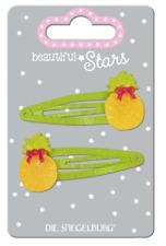 2 MOLLETTA verde ananas BELLO STELLE 14909 Spiegelburg Fermaglio per capelli