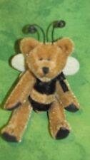 "Boyd's Bears Plush~T. F. Wuzzie~BUZZIE~Bee~2.5""~595180~Mini~New Old Stock~"