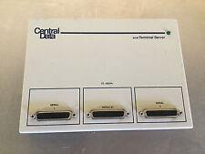 CENTRAL DATA ST-1002R+ SCSI TERMINAL SERVER