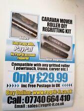 Caravan Mover Roller DIY Regritting Kit ,1000s Sold, Free Postage UK,Easy To Do