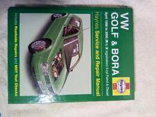 VW GOLF +BORA 98-2000 4CYL PETROL AND DIESEL HAYNES MANUAL