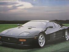 Poster Ferrari F512M 1995