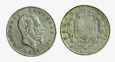 pcc2137_24) Vittorio Emanuele II (1861-1878) 5 Lire Scudo 1874 M