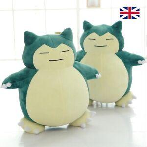 New 30cm Best Xmas Kids Gift Pokemon Plush Toys Character SNORLAX Game Doll UK-