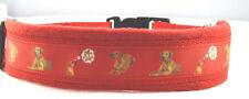 "Hundehalsband "" Rhodesian Ridgeback"", L 50-55 cm Halsumfang cm Halsumfang,"