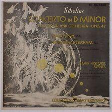 SIBELIUS: Concerto D Minor Violin ISAAC STERN 6-EYE Vinyl LP NEAR MINT! ML 4550