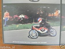 S0504-PHOTO-ART VALSTER BRIDGESTONE 125 CC OLDEBROEK 1974 NO 11 HEUGA CASTROL MO