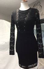 Material Girl Black Dress Medium