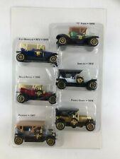 6 verschiedene Oldtimer Modellautos 1906-1914 ? NEU und OVP