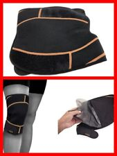 COPPER FIT Rapid Relief Knee Wrap with Hold/Cold Therapy Gel Insert NEW OPEN PAK