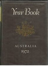 Year Book...Australia 1972...Commonwealth...ABS...Statistics...Hard Cover...