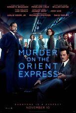 Murder on the Orient Express Movie Poster (24x36) - Branagh, Dafoe, Depp v2