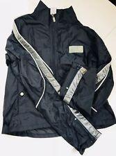 Calvin Klein Jeans Boys Small Zip Up Jacket Navy Reflector Windbreaker