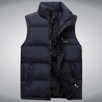 2016 HOT Sales Men's Fashion Winter Warm Vest Waistcoat stand Collar Jacket