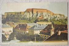 """CPA """" BELFORT - Le Château et le Lion"""