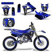 Yamaha YZ125 YZ250 Graphics Kit Rim Trim Dirt Bike Decal YZ 125 250 91-92 REAP U