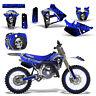 Yamaha YZ125 YZ250 Graphics Kit Rim Trim Dirt Bike Decal YZ 125 250 91-92 REAP U