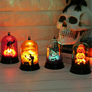 Halloween Light Lamps Night Home Party Table LED Lantern Hanging Decor Prop Gift