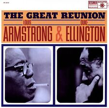 LOUIS ARMSTRONG & DUKE ELLINGTON - THE GREAT REUNION   VINYL LP NEW+