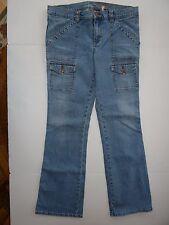 Women's Buffalo David Bitton Jeans With 4 Flap Pockets & 2 Regular Pockets sz 31