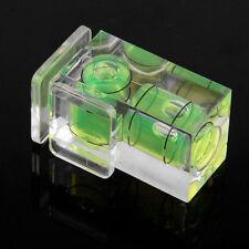 Double 2 Axis Bubble Spirit Level Camera D-SLR Hot shoe for Canon Nikon Olympus