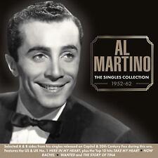 AL MARTINO - THE SINGLES COLLECTION 1952-62  2 CD NEW+