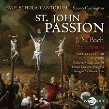 Simon Carrington, J. - St John Passion 1725 Version [New CD]