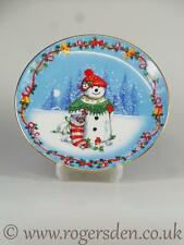 Royal Doulton  Classic Plate Mrs Frosty Christmas Stocking PN 584