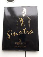 Christies auction catalogue Sinatra New York December 1995 Hardback Copy