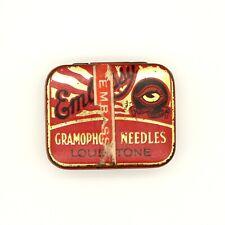 GRAMOPHONE NEEDLE TIN - Embassy - Loud Tone Gramophone Needles [NEEDLE TIN]