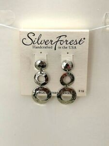 Silver Forest Handcrafted in the USA Earrings NEW (A17)