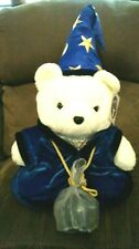 1999 Dayton Hudson Santa Bear plush with Magic 8 Fortune Ball, new with tag