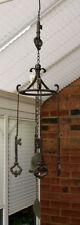 Carillón de Viento Grande Fuerte De Hierro Fundido 4 Teclas Bell Colgante Metal Casa Jardín 72 Cm Nuevo
