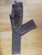 jeans uomo Jeckerson con alcantara - taglia 31 - colore marrone chiaro