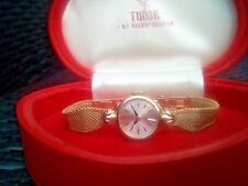 STUNNING LADIES ROLEX TUDOR GOLD WATCH & THE ORIGINAL BOX IN WONDERFUL CONDITION