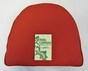 NIB Jordan Manufacturing Wicker Outdoor Chair Cushion Red