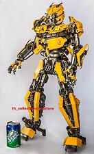 60 CM Bumblebee Transformers handmade metal art home decor for collectors