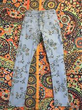 CITIZENS OF HUMANITY Womens Size 27 Floral Mandy High Waist Retro Slim Jeans W27