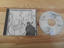 CD JAZZ Matt Kendrick Unit-Bass City (10) canzone RACCOGLITORE Music