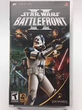 Star Wars Battlefront II (Sony PSP) Greatest Hits Lucasarts - Very Good