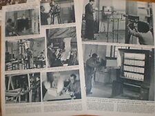 Article Fire Brigade Research Station Boreham Wood 1950