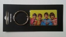 """The Beatles llavero oficial """"Sgt Peppers"""" metálico, 59x35 mm, foto color"""
