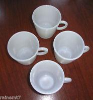 Milk Glass Child Size C Handle Mug Set ~ Excellent ~ Fast Shipping!