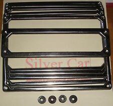 Kit marcos placa inox Fiat varios modelos