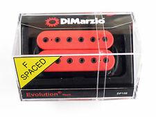 DiMarzio F-spaced Evolution Neck Humbucker Red DP 158