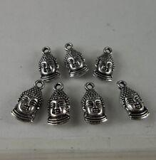 20pcs Tibetan silver Buddha charms pendant 15.5x7.5mm